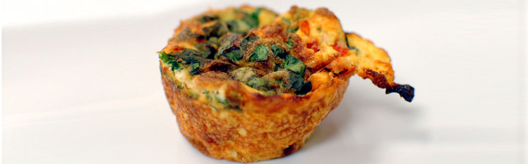 Mini Veggie Quiche